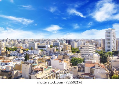Nice view of Nicosia, Cyprus