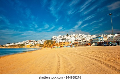 Nice view on Albufeira, Portugal