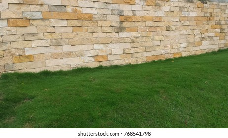 nice wall lawn garden