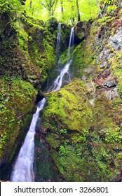 Nice Waterfall at Whiter River Eco Trail, Kalofer, Bulgaria