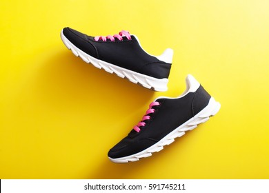 Nice woman sport shoes