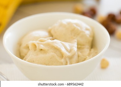 Nicecream - ice cream made of frozen banana
