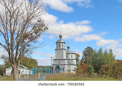 Nicholas The Wonderworker's temple of the village of Ukhmana Kanashsky district Chuvash Republic, Russia