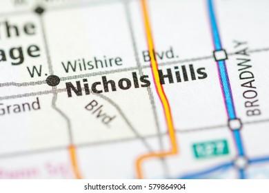 Nichols Hills. Oklahoma. USA
