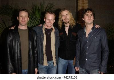 NICKELBACK at the 2002 Billboard Music Awards at the MGM Grand, Las Vegas. 09DEC2002