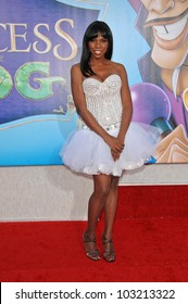 """Nicki Micheaux at the """"The Princess And The Frog"""" World Premiere, Walt Disney Studios, Burbank, CA. 11-15-09"""