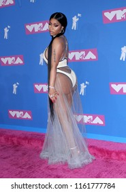 Nicki Minaj at the 2018 MTV Video Music Awards held at the Radio City Music Hall in New York, USA on August 20, 2018.