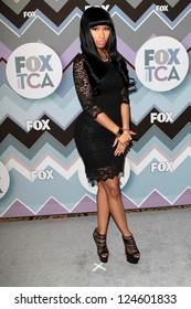 Nicki Minaj at the FOX Winter TCA All-Star Party 2013, Langham Huntington Hotel, Pasadena, CA 01-08-13