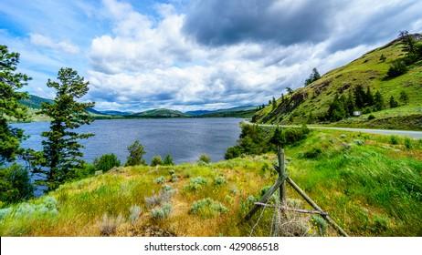 Nicola Lake along Highway 5A between Kamloops and Merritt in central British Columbia
