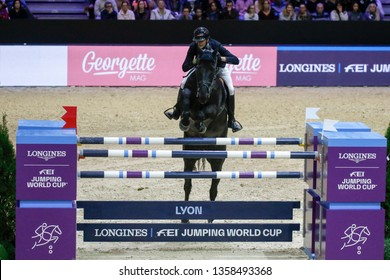 Nicolas Delmotte FRA riding Ilex VP Longines Grand Prix during the Equita Longines 2018, on October 31th to November 4th , 2018, in Lyon, France