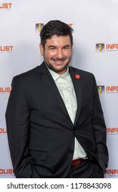 Nicolas Repetto attends INFOLIST PRE-EMMYS SOIREE  at Skybar at the Mondrian Hotel, West Hollywood, California on September 12th, 2018
