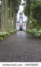 São Nicolau Church - Village Church in Sete Cidades, São Miguel, Azores, Portugal