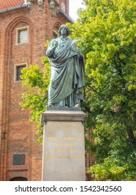 Nicolaus Copernicus Monument in the home town of astronomer Nicolaus Copernicus (1473–1543) was erected in 1853 by the city's residents.