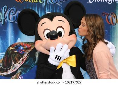 Nicole Anderson at the World Premiere of 'World Of Color,' Disney's California Adventure, Amaheim, CA. 06-10-10