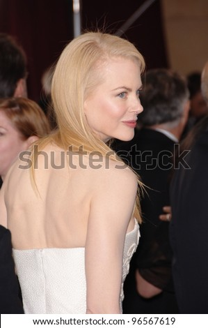 NICOLE KIDMAN At The 78th Annual Academy Awards Kodak Theatre In Hollywood March