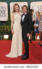 Nicole Kidman & Keith Urban at the 68th Annual Golden Globe Awards at the Beverly Hilton Hotel. January 16, 2011  Beverly Hills, CA Picture: Paul Smith / Featureflash