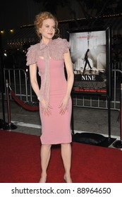 "Nicole Kidman at the Los Angeles premiere of her new movie ""Nine"" at the Mann Village Theatre, Westwood. December 9, 2009  Los Angeles, CA Picture: Paul Smith / Featureflash"