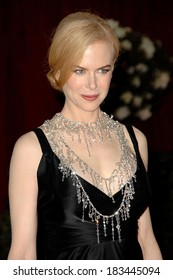 Nicole Kidman, in a L'Wren Scott necklace, at RED CARPET-80th Annual Academy Awards Oscars Ceremony, The Kodak Theatre, Los Angeles, February 24, 2008