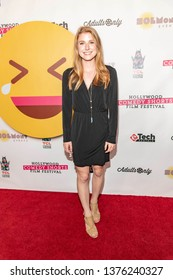 Nicole McCullough attends 2019 Hollywood Comedy Shorts Film Festival at TCL Chinese Theatres 6, Hollywood, CA on April 20, 2019