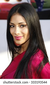Nicole Scherzinger at the Los Angeles premiere of 'Cars 2' held at the El Capitan Theatre in Hollywood, USA on June 18, 2011.