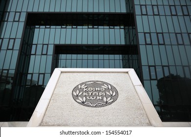NICOSIA,CYPRUS-MARCH 15:The administrative headquarters of the Bank of Cyprus in Nicosia on March 15,2013