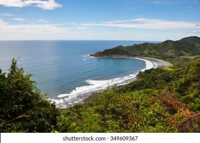 Nicoya Peninsula landscapes, Costa Rica.