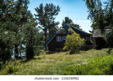 NIDA. LITHUANIA. August 2018 : Summer house of Thomas Mann in Nida. Lithuania