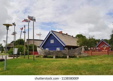 Nida, resort town in Lithuania, near the Baltic Sea.