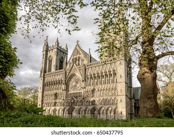 Nidaros Cathedral in Trondheim is the largest medieval building in Scandinavia and the most important church in Norway.
