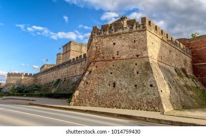 Niebla castle, or Guzman castle in the Spanish town of Niebla, Huelva.