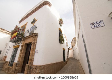 Niebla is a walled village in Huelva province Andalusia Spain