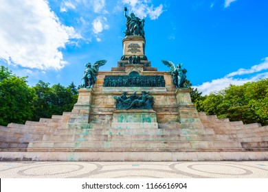 Niederwalddenkmal is a monument located in the Niederwald near Rudesheim am Rhein in Hesse, Germany