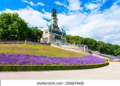 Niederwalddenkmal is a monument located in the Niederwald near Rudesheim am Rhein in Hesse, Germany