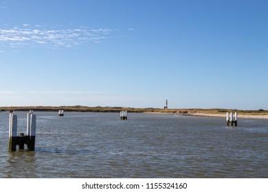 Nieuwpoort harbour view