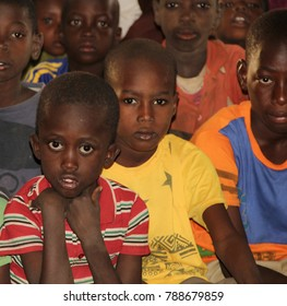 Niger, Niamey - December 20, 2017: Eyes tells alot.