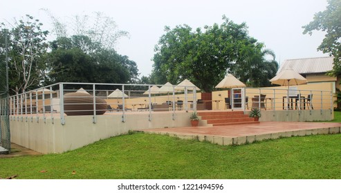 LAGOS NIGERIA -12TH OCTOBER 2015: Epe resort, an holiday getaway location in the scenically rich Epe Region of Lagos State.