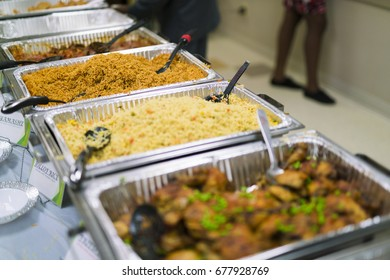 Nigerian Party Food