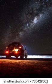 Night of Adventure Photographing in the Sky in the Hidden Lagoons of San Pedro de Atacama, Chile