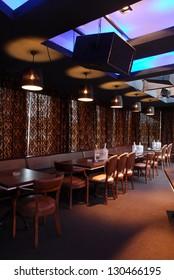 Night Bar Interior