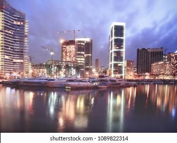Night in Beirut, Lebanon