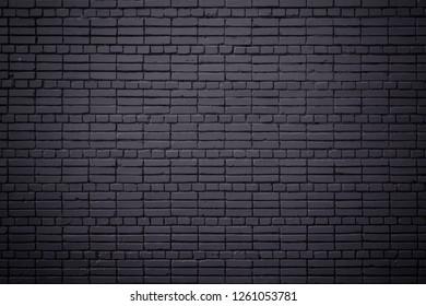 Night blue texture brick background.