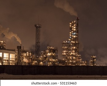 Night chemical plant