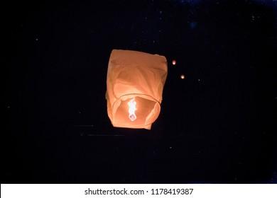 Night Chinese Lantern