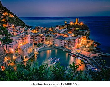 Night Cinque Terre Vernazza