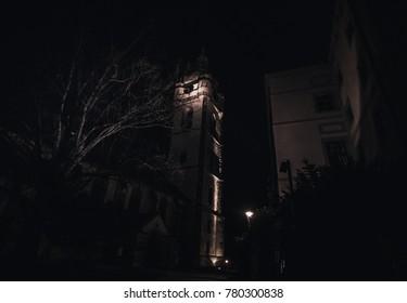 Night cities in the Czech Republic