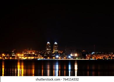 Night city Dnipro