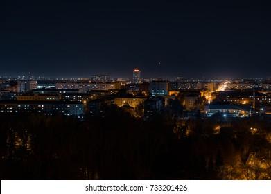 Night city. Russia.