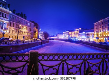 Night city Saint Petersburg