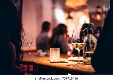 Night club pub restaurant mood party drinks