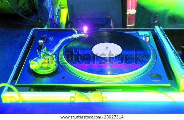 Night Club and vinyl